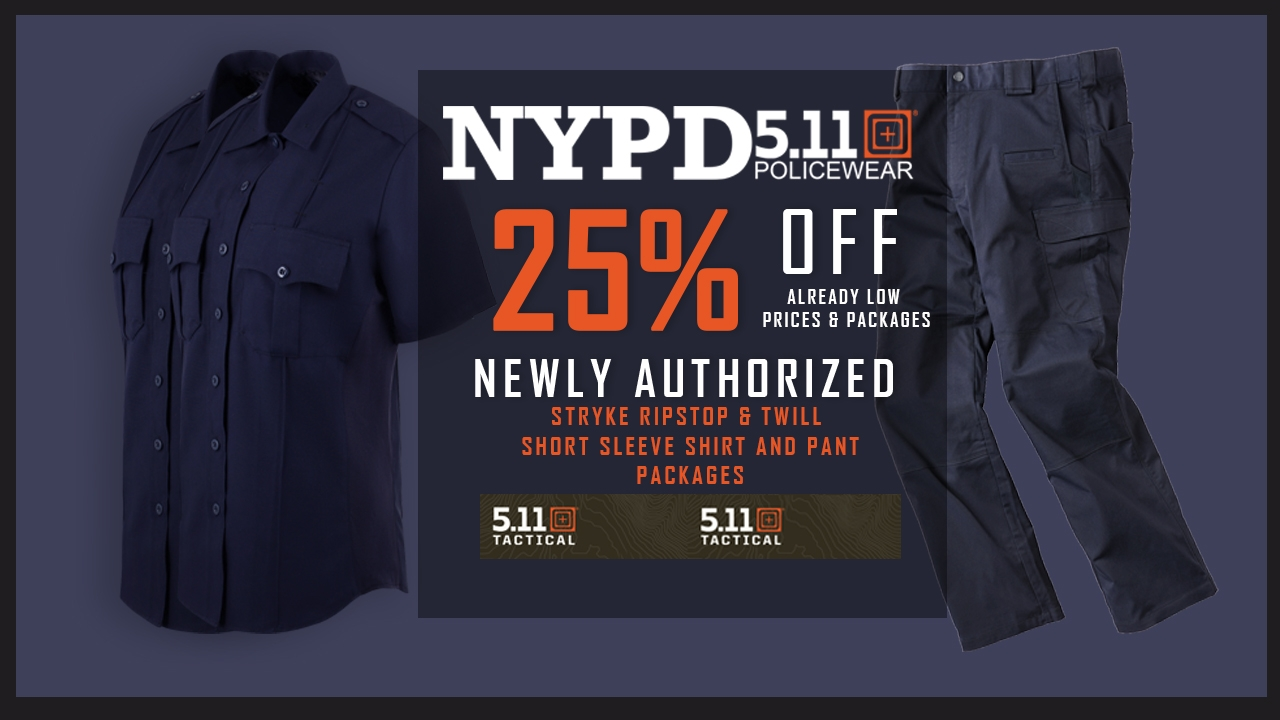 2a4b2e7d6 Short Sleeve Package Sale. NYPD UNIFORM PACKAGES